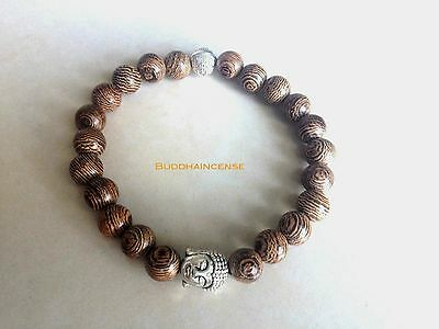 Buy one get second FREE Natural Wood Buddha Bracelet
