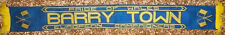BARRY TOWN FC scarf pride of wales