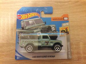 1:64 1//64 Baja Blazers 10//10 2020 Hot Wheels Land Rover Series III Pickup