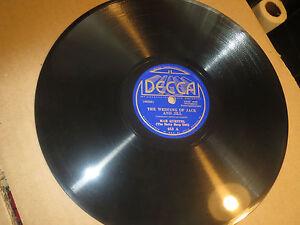 Details About 78rpm Decca Mae Questel Betty Boop Wedding Jack Jill Polly Doodle Sharp E