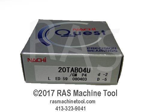 20TAC47 Nachi #20TAB04U Ball Screw Bearing