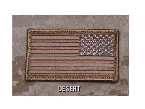 Mil Spec Monkey MSM American Flag REVERSED Patch-Multicam-SWAT-ACU-Full Color