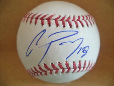 Autographs-original Baseball W/coa Up-To-Date Styling Trustful Christian Adames Colorado Rockies Signed Autographed M.l