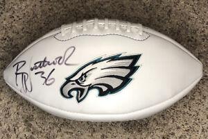 Brian Westbrook Autographed Football Philadelphia Eagles 2004 Limited Edition Fb