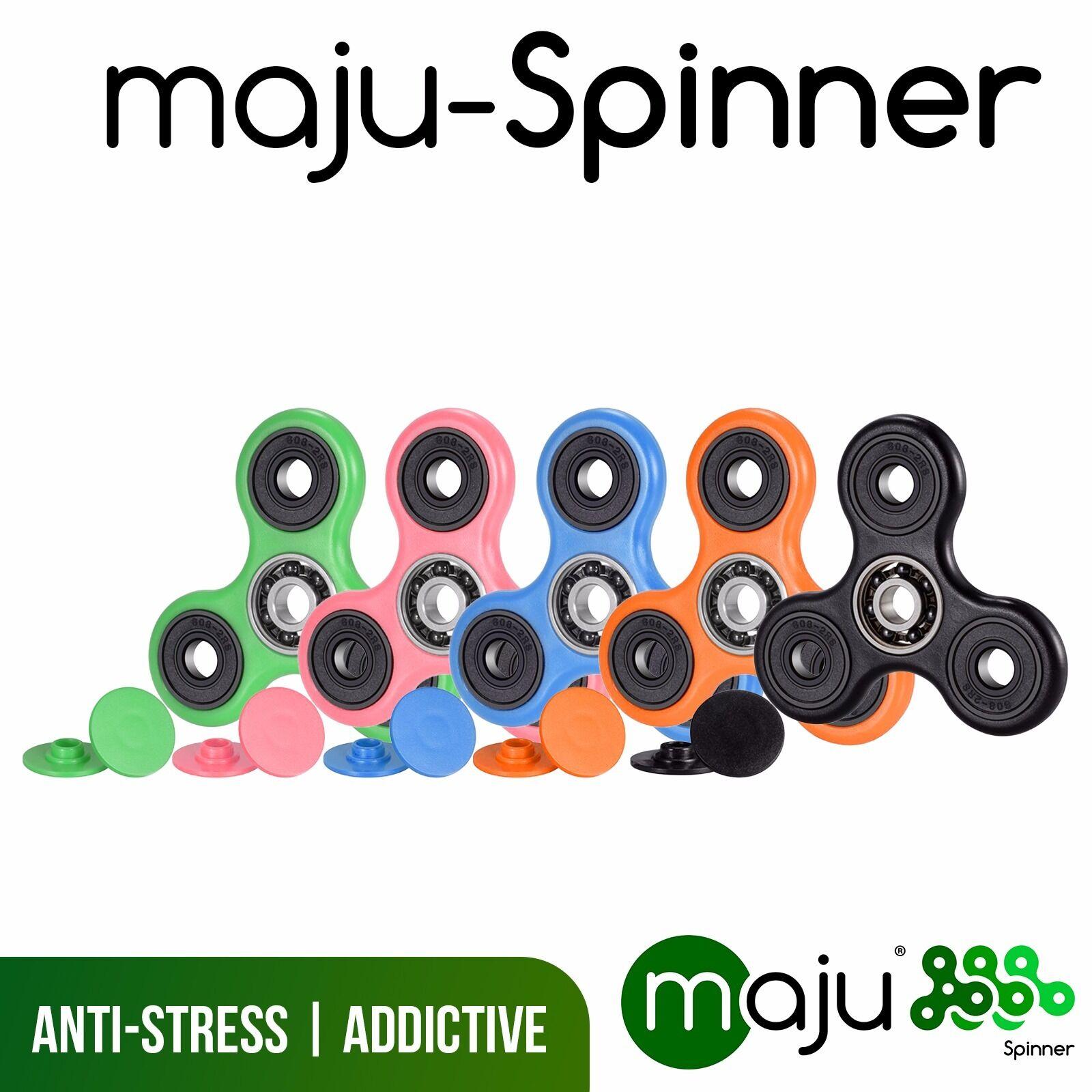 100  pezzi x uomoo Spinner dito Spinner Kreisel anti fidget anti stress individuaticome ed.  edizione limitata a caldo