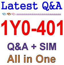 Designing Citrix XenDesktop 7.6 Solutions 1Y0-401 Exam Q&A PDF+SIM