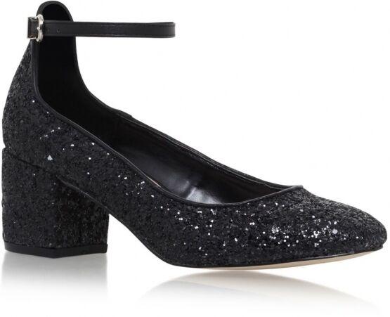 PVP  carvela kg Reino Talla Talla Talla 3 4 5 6 Negro Zapatos Tacón Correa en el tobillo Brillo Medio c18968