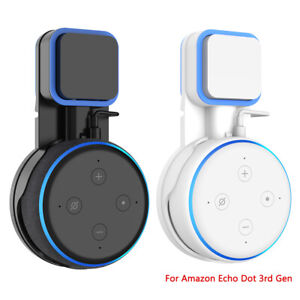 2X-Outlet-Wall-Mount-Holder-Bracket-For-Amazon-Echo-Dot-3rd-Generation