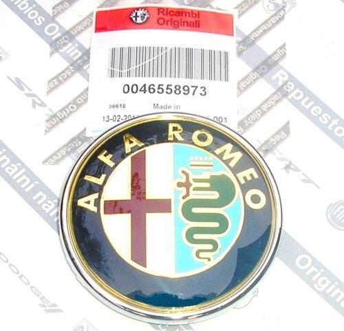 hasta 2013 Nuevo Sombrero Insignia emblema de la parrilla delantera 100/% Genuino ALFA ROMEO MITO