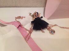 73cfa6b3a75c9 Ted Baker Pendant Necklace Fairy Ballerina Swarovski Crystal Gold ...
