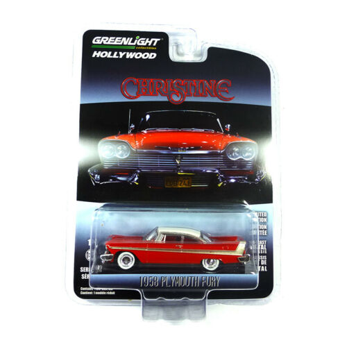 ° Greenlight 44830 Plymouth Fury Rosso//Bianco-Hollywood Series scala 1:64 NUOVO