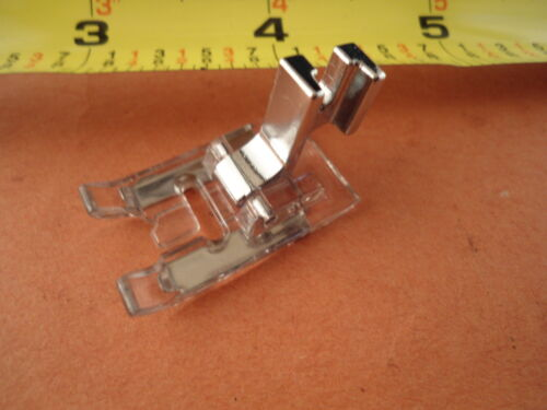 Clear Glide Open Toe Satin Stitch Foot Singer Janome Kenmore Brother Bernette