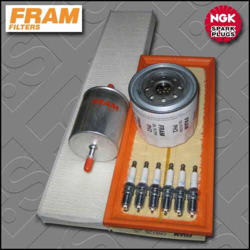 Service kit ford mondeo MK3 ST220 fram huile air carburant habitacle filtre bouchons 2003-2007