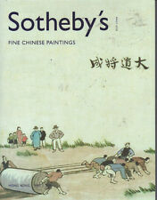 SOTHEBY'S HK CHINESE PAINTINGS Li Fengmian Zhang Daqian Auction Catalog 2005