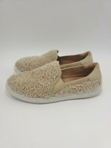Women-039-s-UGG-Australia-Natural-W-Ricci-1019659-Slip-On-Sneakers-Size-6-5