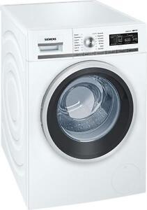 Siemens WM16W540 iQ700 8 kg A+++ Waschmaschine, 1600 U/min, AquaStop LED-Display