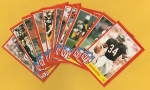 1985-Topps-Football-Glossy-Allstar-Complete-Set-Tough-to-find-Payton-Marino-LT