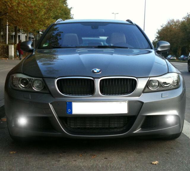 COPPIA LAMPADE FENDINEBBIA HB4 LED CREE COB CANBUS BMW SERIE 3 E91 6000K LCI