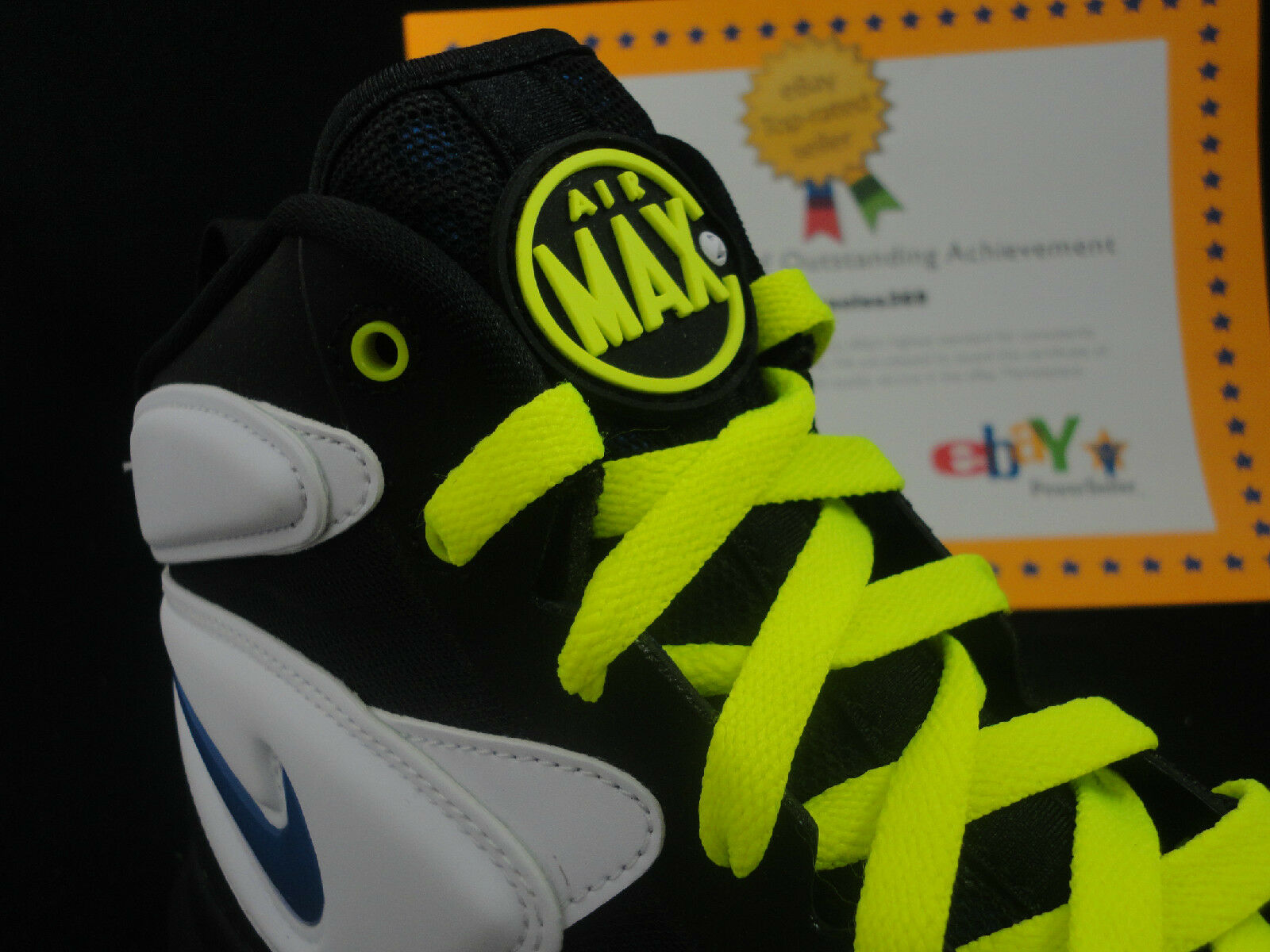Nike Air Max SQ Uptempo Total ZM, Uptempo 2, Total Uptempo Air, Retail $190, Size 9.5 3233b9
