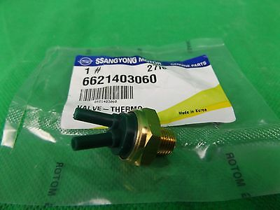 GENUINE SSANGYONG KORANDO SUV 2.9L TURBO DIESEL ALL MODEL THERMO VALVE