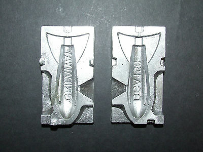 DCA 150g FLIGHTED FINNED ALLOY LEAD WEIGHT MOULD BEACH COD BASS SEA FISHING