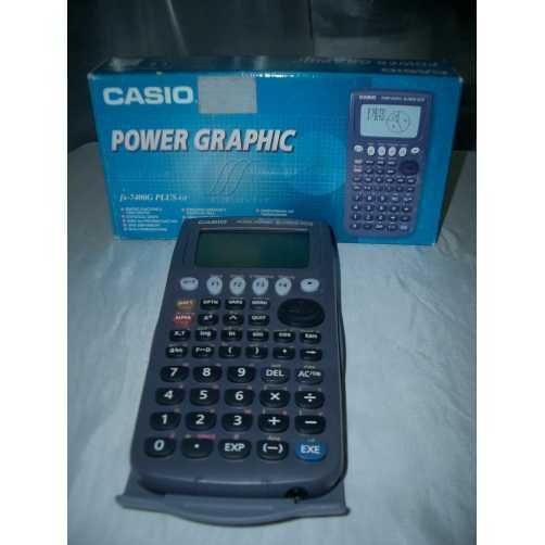 FX7400G PLUS-GY Casio - CALCOLATRICE GRAFICA