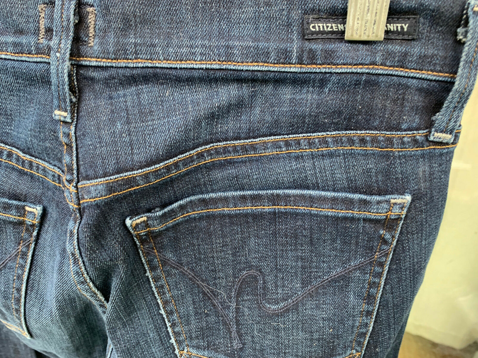 CITIZENS OF HUMANITY AVA 1278J-132 STRAIGHT LEG JEANS SIZE 26