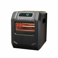 Lifesmart 4-Element Quartz Infrared Electric Large Room Space Heater