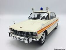 Rover 3500 V8  RHD Metropolitan 1974 Police / Polizei 1:18 MCG