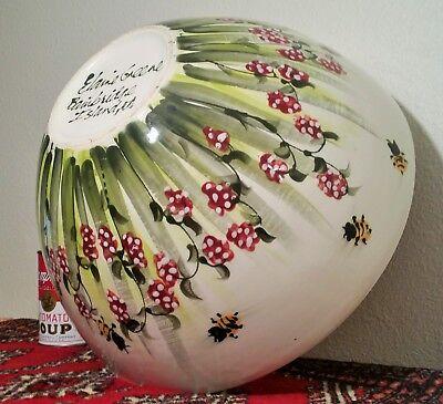Big Bumblebee Berries Bowl Bainbridge Island Seattle Pacific Studio Art Pottery Pottery & China
