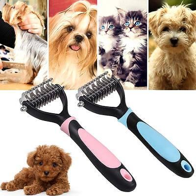 Yorkie Brush Pink Dog Brush Slicker Pet Cat Grooming Brush Shedding Tool Small