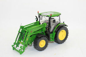 Wiking-773-44-John-Deere-6125R-Tracteur-avec-chargeur-frontal-077344-1-32