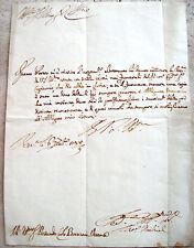1738 LETTERA AUTOGRAFA DI MEMBRO DELLA ESTINTA FAMIGLIA NOBILE VENEZIANA MICHIEL