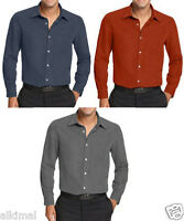 Mens Via Europa Tanner Microsuede Button Front Shirt