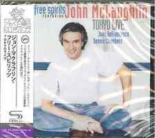 JOHN MCLAUGHLIN FREE SPIRITS-TOKYO LIVE-JAPAN SHM-CD C94