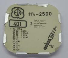 Vintage Ebauches SA Swiss Watch Part: 11 1/2-2500,401 ETA Winding Stem-NOS