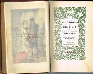 The-Mistress-of-Shenstone-by-Florence-Barclay-1910-1st-Ed-Vintage-Book