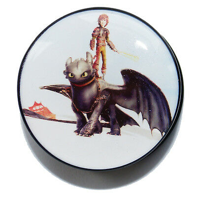 TOOTHLESS FLESH PLUGS HOW TO TRAIN YOUR DRAGON ACRYLIC EAR TUNNELS STRETCHERS