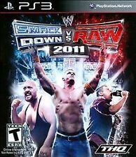 WWE SMACKDOWN VS RAW 2011 PS3 *NEW FACTORY SEALED*