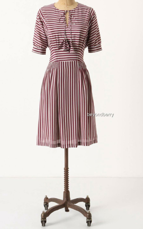 NEW Anthropologie Fine Point Dress by Girls from Savoy  Größe 0