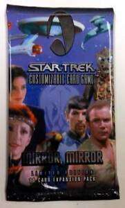 STAR TREK CCG MIRROR MIRROR 6 SEALED BOOSTER BOX LOT