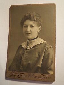 Wien-Maerz-1918-Poldi-Leder-als-junge-Frau-Portrait-CDV