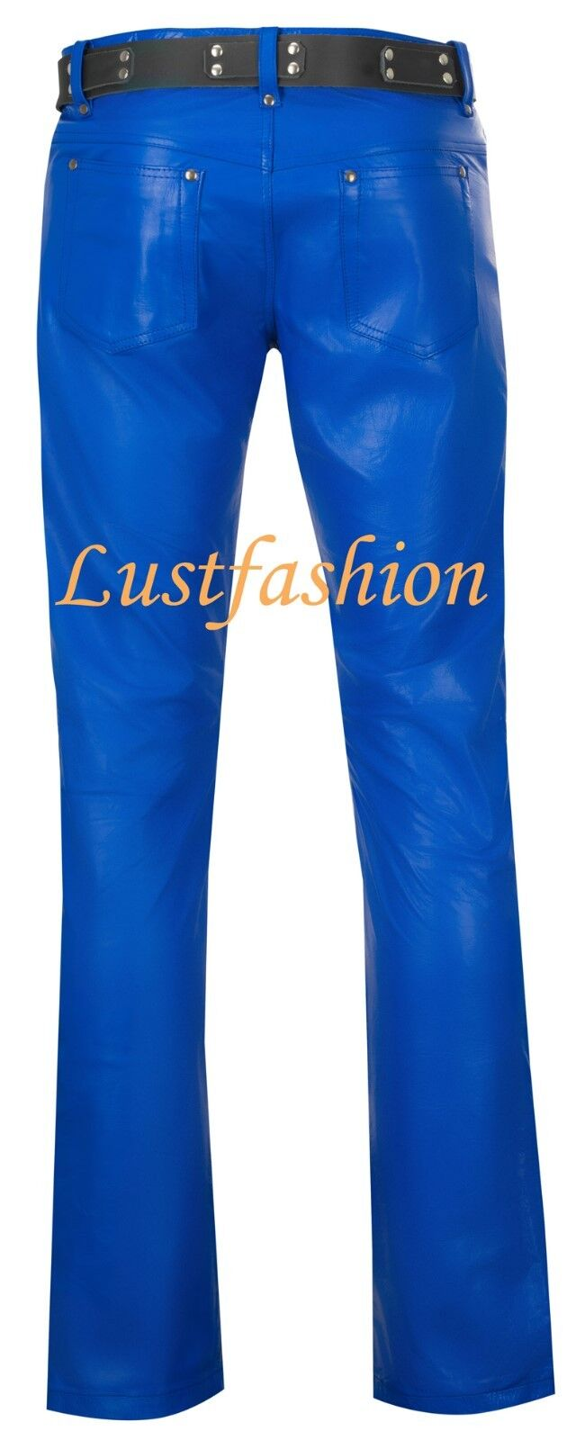 LEDERHOSE blau Lederjeans royalblau neu neu neu  leather trousers pants Blau Cuir Pelle | Ausgezeichneter Wert  1c63a3