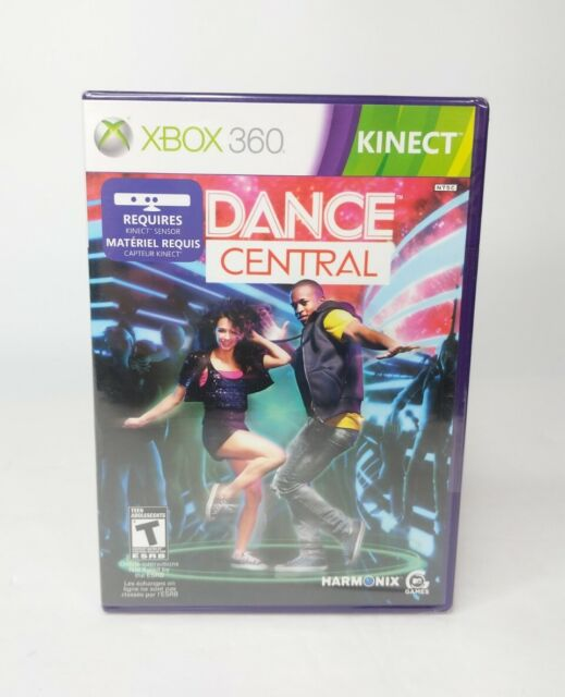 New! Dance Central for XBox 360 Kinect Microsoft Harmonix Video Game