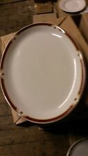 Wood and Sons Balmoral 30cm. (12ins.)Oval Plates x 2.