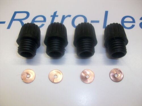Details about  /4 X DISTRIBUTOR ACORN NUT SCREW IN AND X 4 BRASS SPLIT WASHERS 4 1930-60s LUCAS