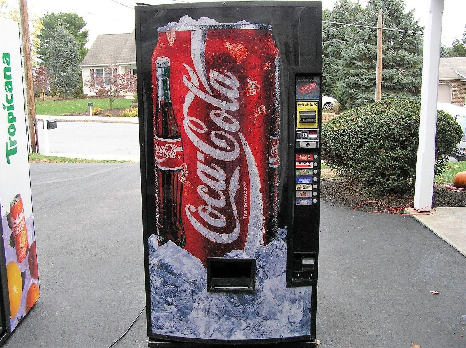 Dixie-Narco 501E or 600E Used Soda Selection Button Panel w//Buttons /& Membrane