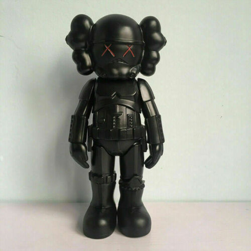 """10/"""" inch KAWS x Star War Darth Vader Vinyl OriginalFake Toy Statue Figure Gift"""