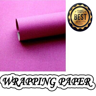 Glitter sparkle gift wrapping sheets perfect for all occasions-69x49cm-Hot Pink
