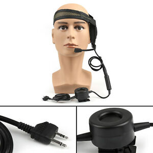 1Pc-HD01-Z-Tactical-Elite-Bowman-Headset-Waterproof-PTT-For-Midland-LXT210-BS2